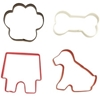 Dog Themed Cookie Cutter Set Dog Themed Cookie Cutter Set, Cookie Set for Dog, Dog bone cookie cutter, Different Size Dog Bone Cookie Cutters