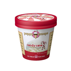 Puppy Scoops Ice Cream Mix - Candy Cane Ice Cream for dog, DIY treats for dogs, Puppy Scoops, Carob Ice Cream for Dogs, Homemade Ice Cream for dogs, Healthy treats for dogs, Carob Puppy Scoops, Puppy Scoops, Real Ice for Dogs, healthy ice cream for dogs, frozen treats for dogs, dog treats, homemade treats for dogs, fun treats to make for your dog,