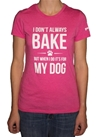 Women's Bake for My Dog Soft Tee
