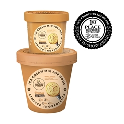 Hoggin Dogs Ice Cream Mix - Peanut