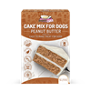 Puppy Cake Mix  - Peanut Butter (wheat-free) Puppy Cake, cake mix for dogs with frosting. Give your dog a birthday cake. Free shipping on orders over $35. Wheat-free peanut butter, red velvet, pumpkin, carob flavor and banana flavor. birthday cakes for dogs, birthday cake for dogs, dog birthday, dog birthday cakes, dogs birthday cake,  dog birthday cake recipe, dog recipes, dog treat recipes, pet food, cake for dogs, dog cakes, dog cakes for dogs, dog cake mix, doggie birthday cake, homemade dog treats, homemade dog biscuits, dog biscuits, pet treats, dog cupcakes, ice cream for dogs, gourmet dog treats, organic dog treats, puppy treats, treats for dogs, healthy treats for dogs, healthy dog treats, best dog treats, wheat free dog treats, dog bakery, doggy treats, doggie treats, 3 dog