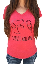 Womens Spirit Animal Soft Tee